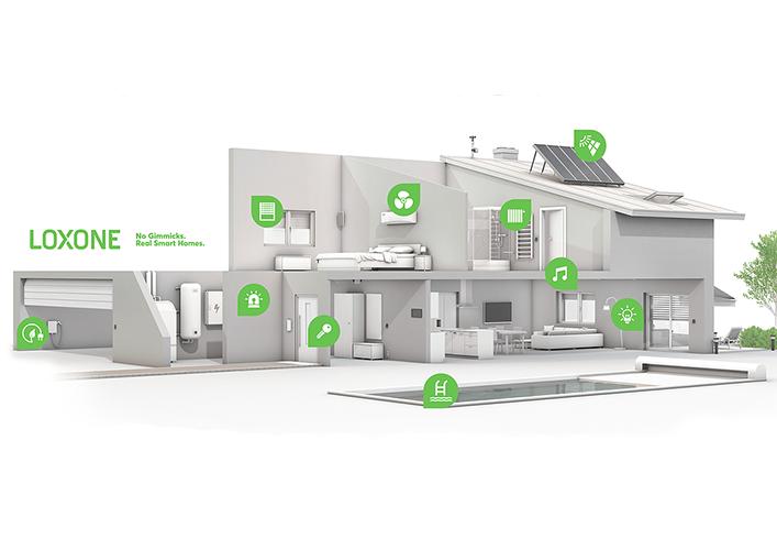 Rodinné domy EUROLINE už aj s inteligentným systémom LOXONE
